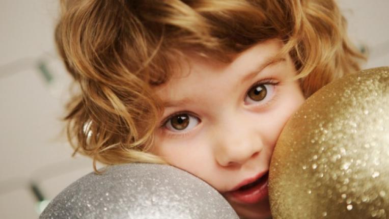 деца дете Коледа декорация