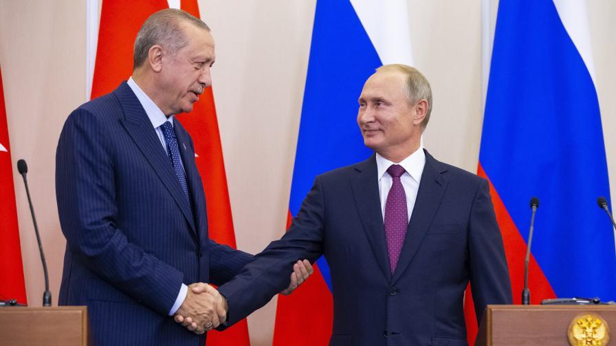 Путин и Ердоган се разбраха за Идлиб - създават демилитаризирана зона