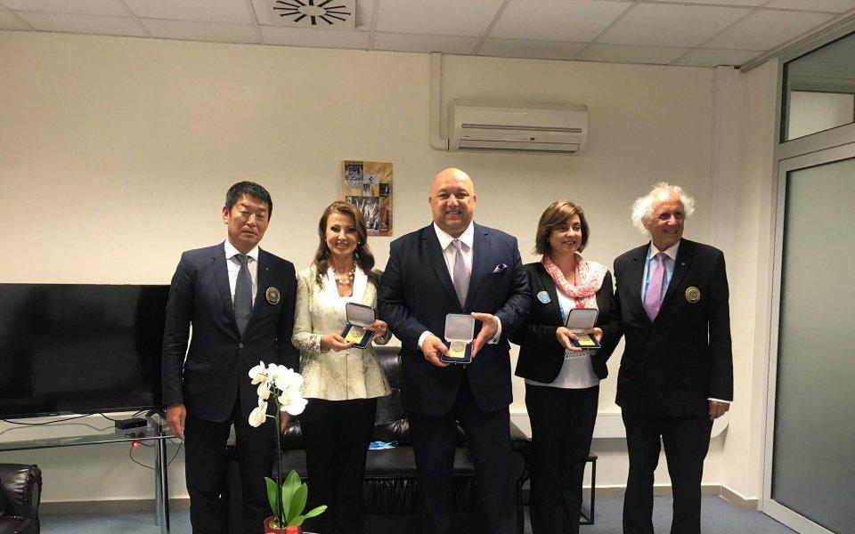 Високо признание за Илиана Раева, Красен Кралев и Росина Атанасова
