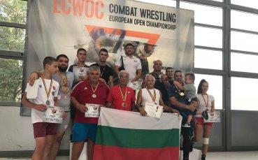 България с отлично представяне на Европейското по Комбат Рестлинг