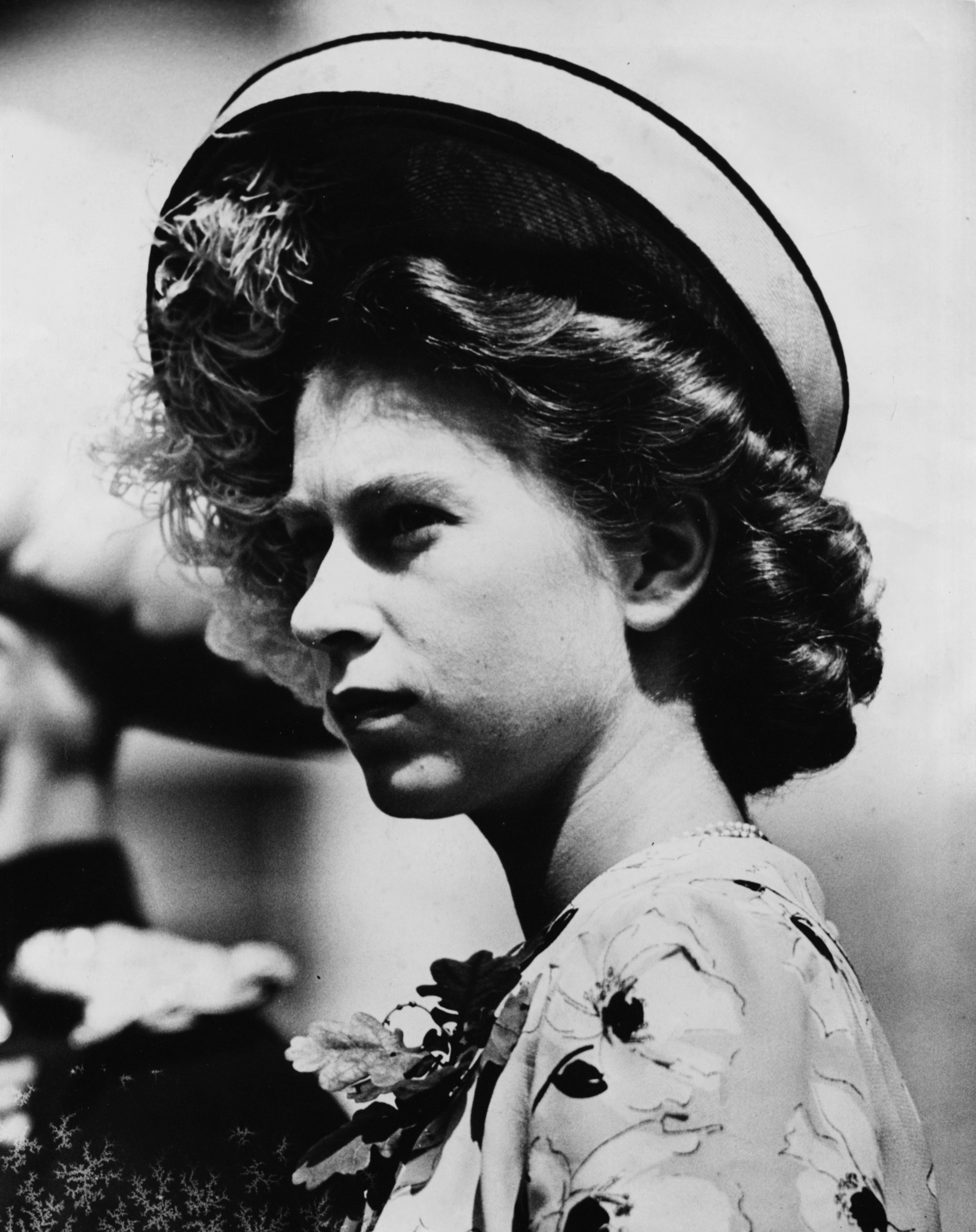 Елизабет II когато все още е само принцеса