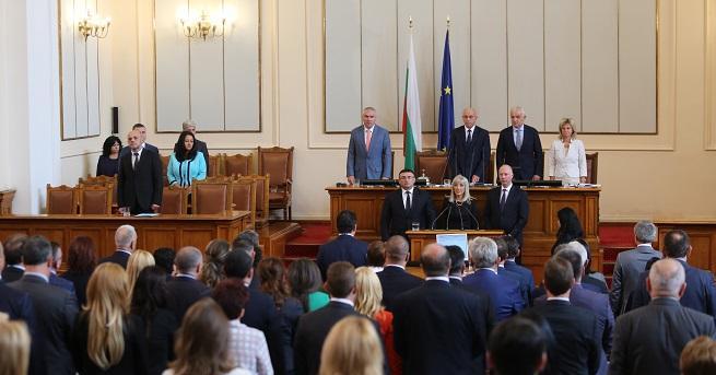 Парламентът избра тримата новиминистри. Петя Аврамова, Росен Желязков и Младен