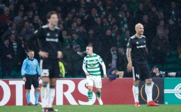 Селтик се измъкна с късен гол, Залцбург ликува след драма