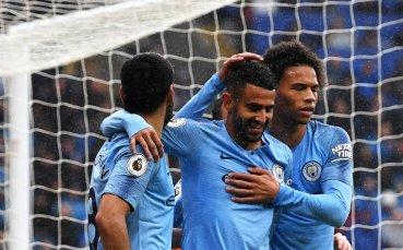 Манчестър Сити се развихри срещу новак