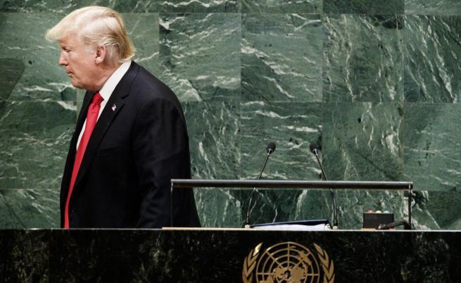 ЕС, Русия и Китай срещу САЩ, смяха се на Тръмп в ООН