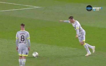 Юноша на Ливърпул с фамозен гол срещу Юнайтед