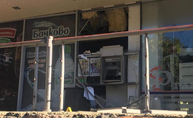 Взривиха банкомат, Стара Загора под блокада