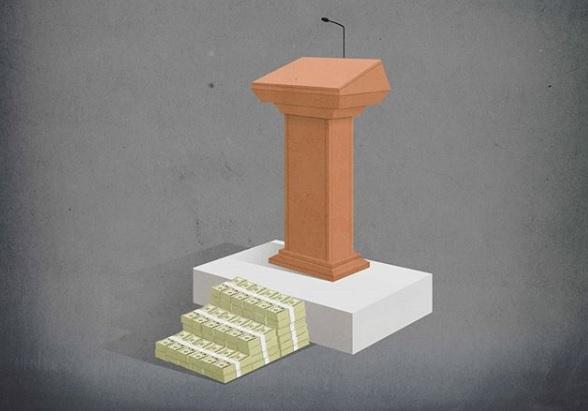 """Политическата корупция"", пише Марко Мелграти."