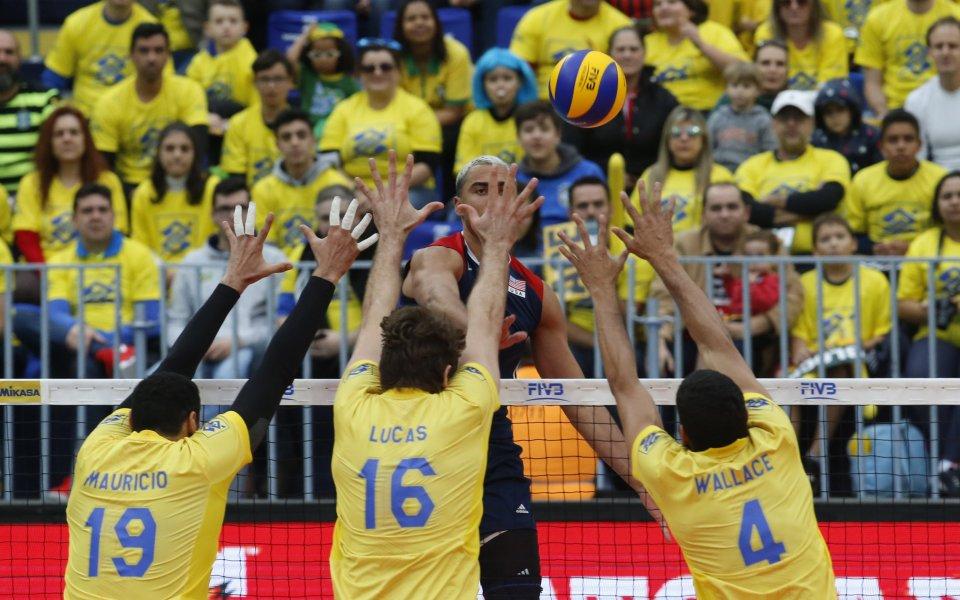 Бразилия победи САЩ и завърши първи в групата си