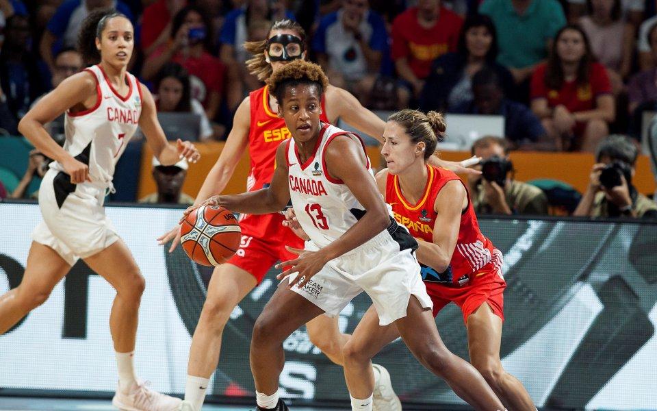 Испания на полуфинал на Световното по баскетбол за жени