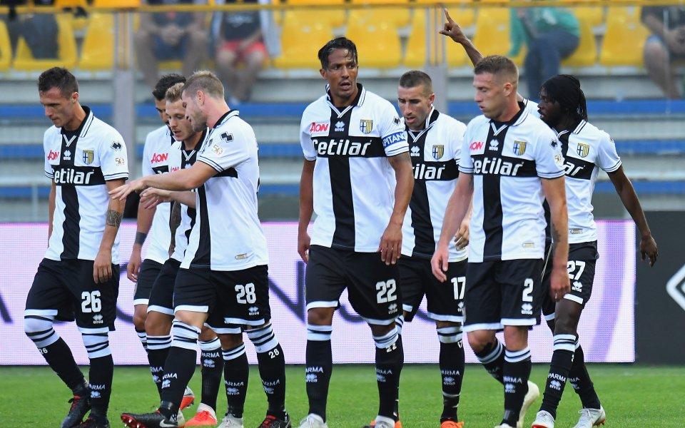 Ветеранът Жервиньо донесе нова победа на Парма в Серия А