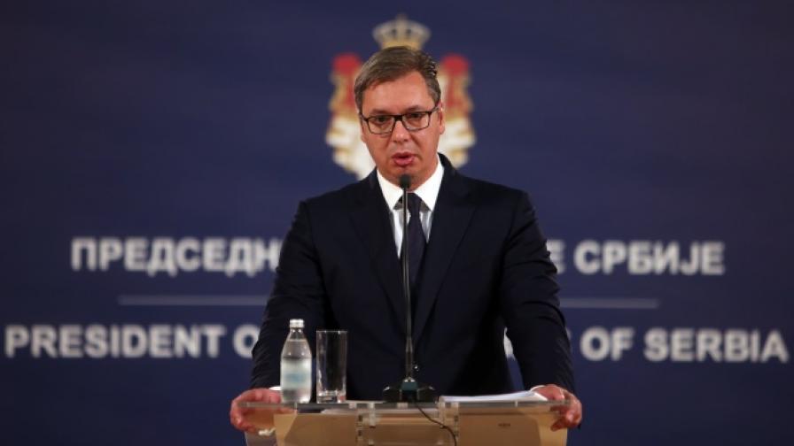 Вучич:Ще поискам подкрепа от Путин ивярвам,че ще я получа