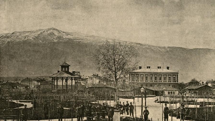 <p>Градската градина е център на обществения живот в столицата в края на 19-ти век</p>