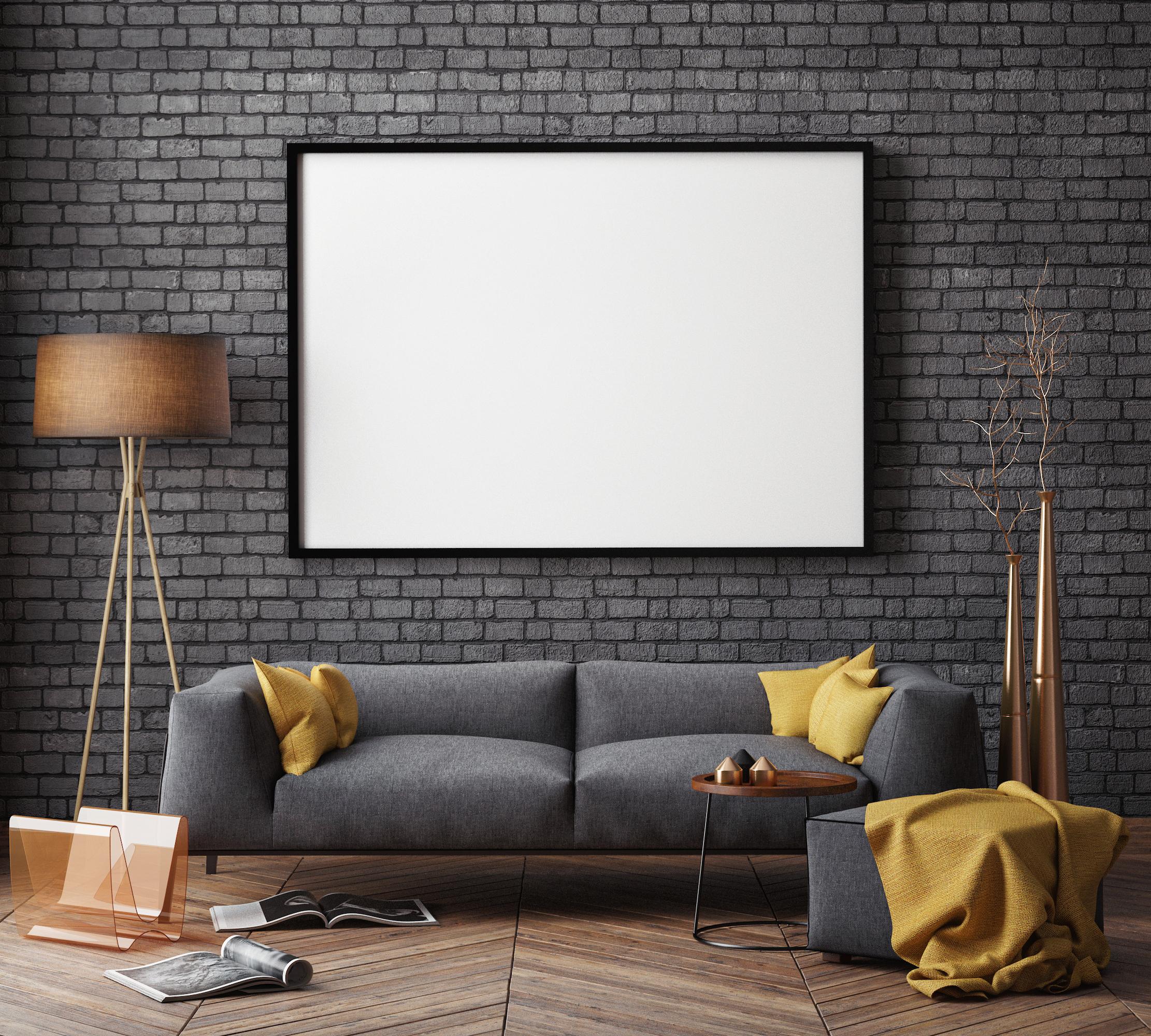 Черното не е често срещан избор, но пък придава ралично усещане за дома.
