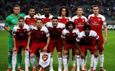 Арсенал е отборът в най-добра форма в Европа