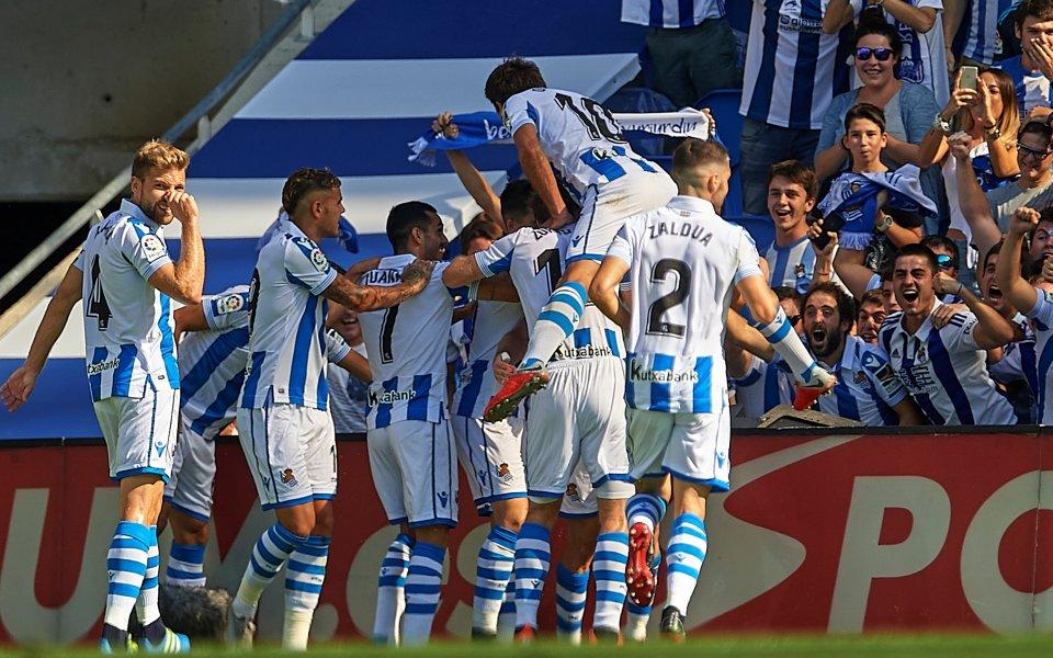 С две дузпи Реал Сосиедад се справи с Билбао