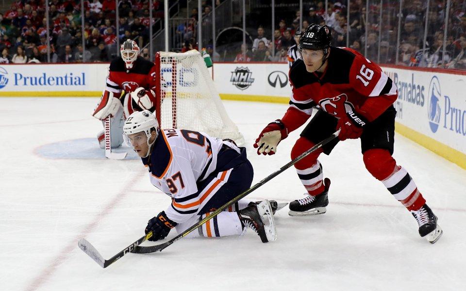 Мач от НХЛ се игра в Швеция