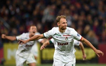 Локомотив победи Ахмат и отново поведе колоната в Русия