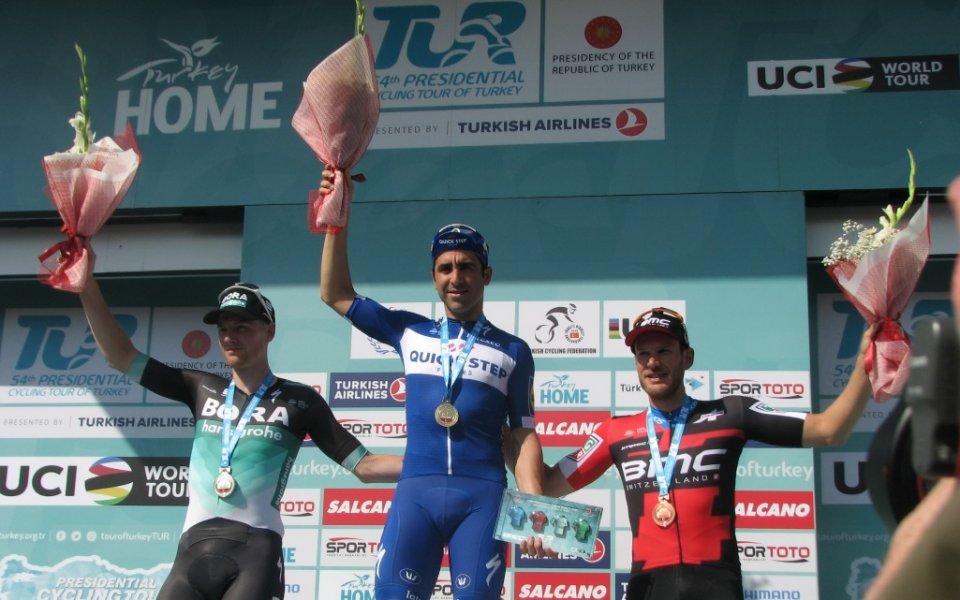 Максимилиано Ричезе спечели първия етап от Обиколката на Турция