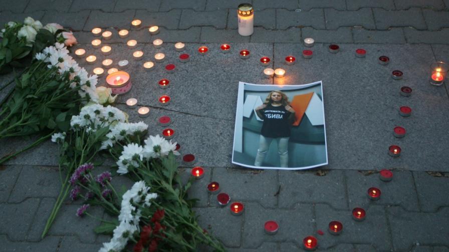 Бдение в памет на Виктория Маринова