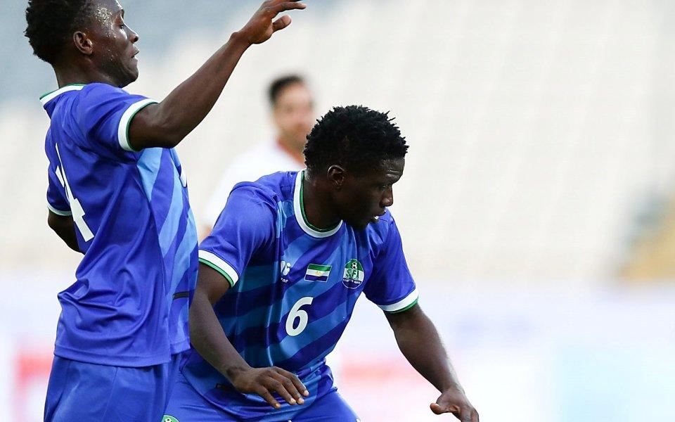 Отмениха мачовете между Сиера Леоне и Гана