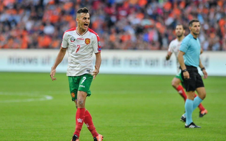 Костадинов с цял мач в Москва, но Арсенал загуби