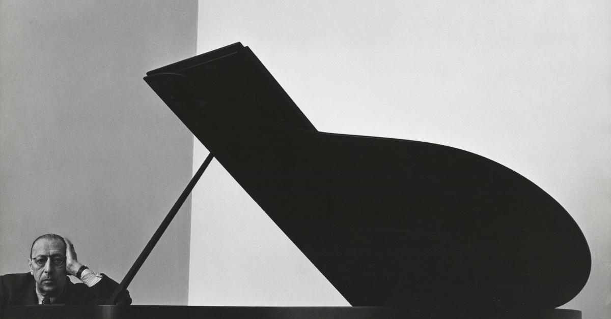 Композиторът Игор Стравински, 1946 г. Работил е през по-голямата част от живота си въвФранцияиСъединените щати. Той е определян като един от най-значимите композитори на 20 век.