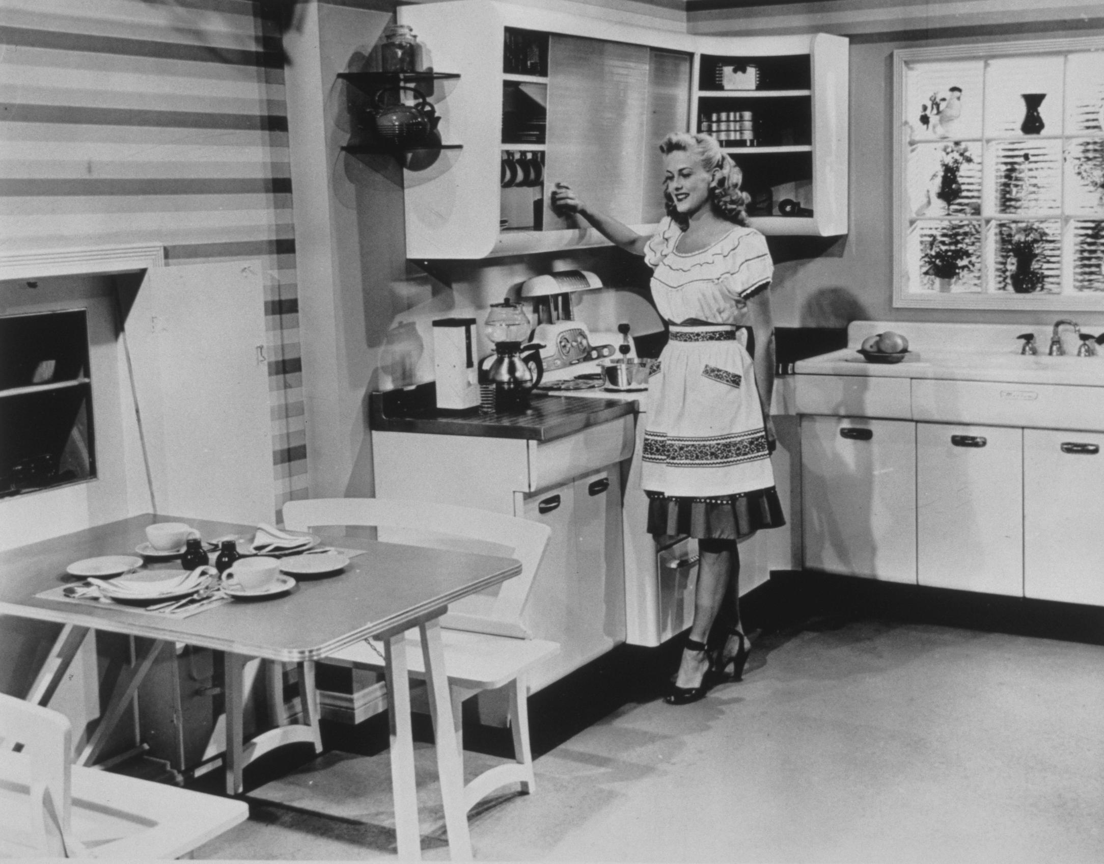 Кухня през 50-те години