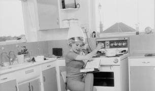 <p>Как изглеждаха кухните преди повече от 50 години</p>