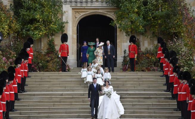 Внучката на кралица Елизабет II се омъжи