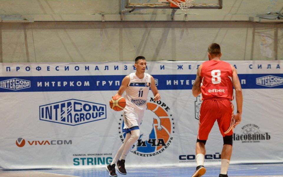Черно море Тича записа трета победа в НБЛ