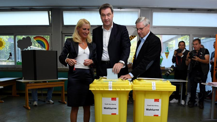 Тежка загуба за хората на Меркел в Бавария