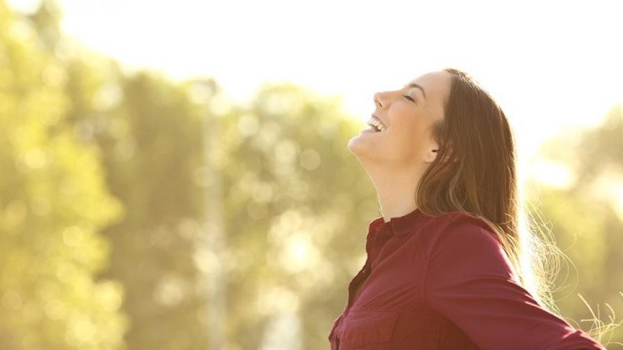 Грижете се да дишате свободно, за да сте здрави