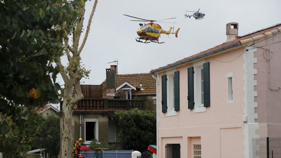 Невиждани наводнения в Южна Франция, има жертви