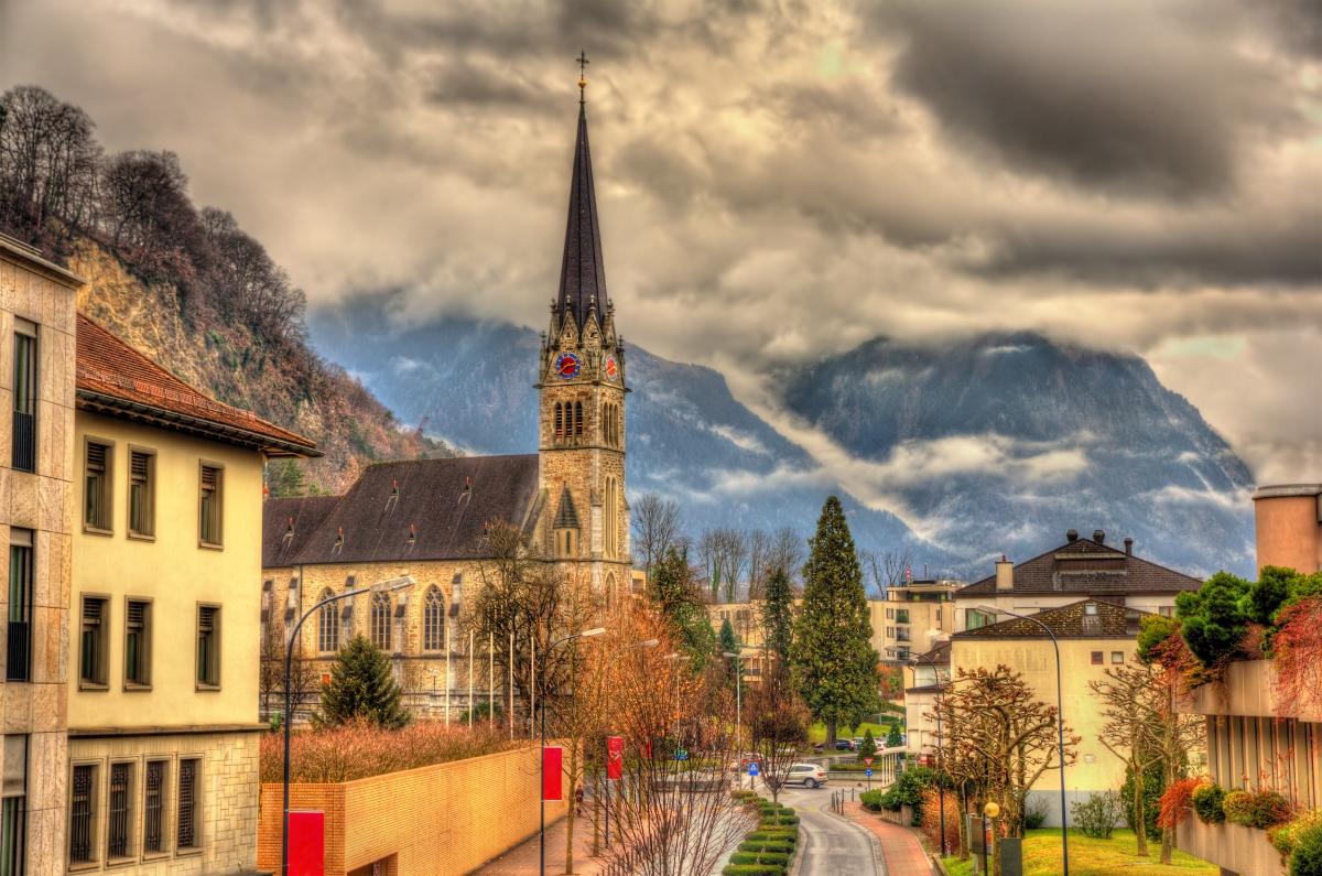 Вадуц - гордостта на Лихтенщайн е с население от 5 100 души.