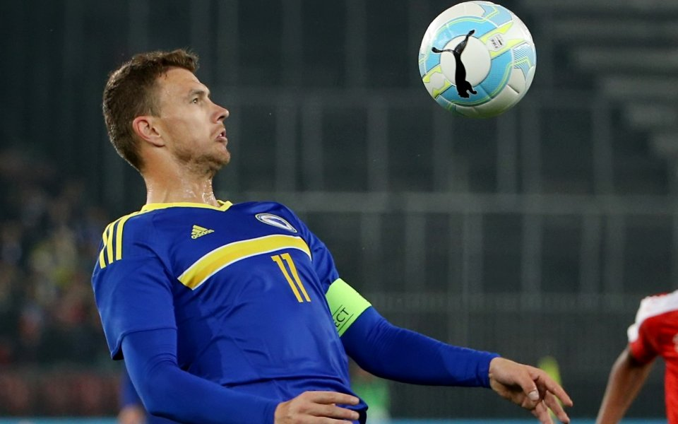 Босна без Джеко за квалификациите