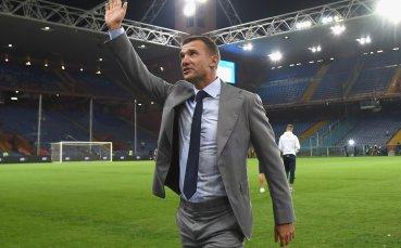 Шевченко доволен от промяната в Милан