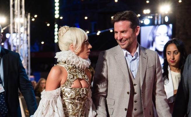 Лейди Гага и Брадли Купър отново заедно пред камерите