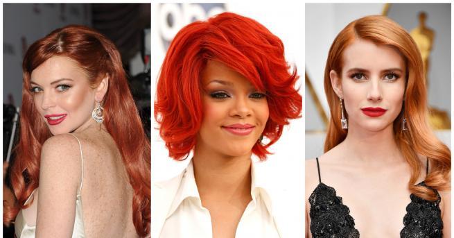 Смяната в цвета на косата никога не е за подценяване.