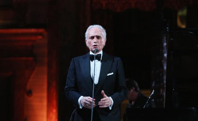 Хосе Карерас кацна в София за последния си концерт у нас