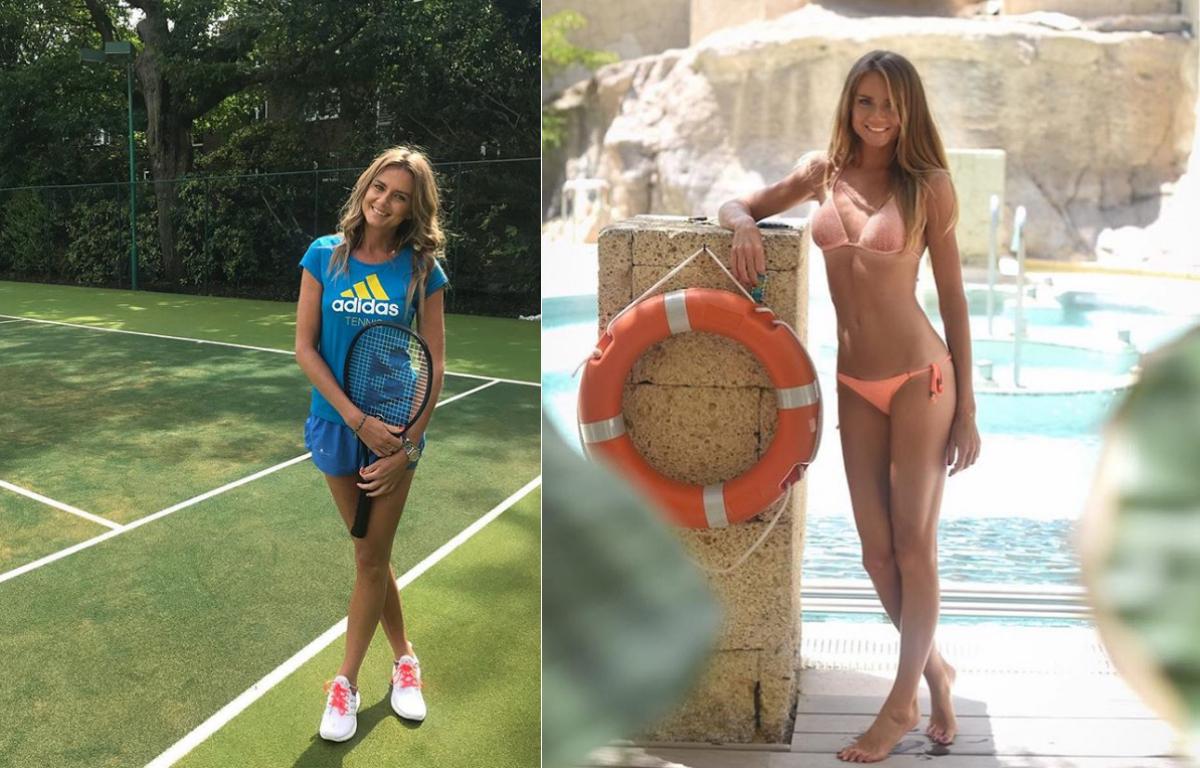 Тенисистката Даниела Хантухова