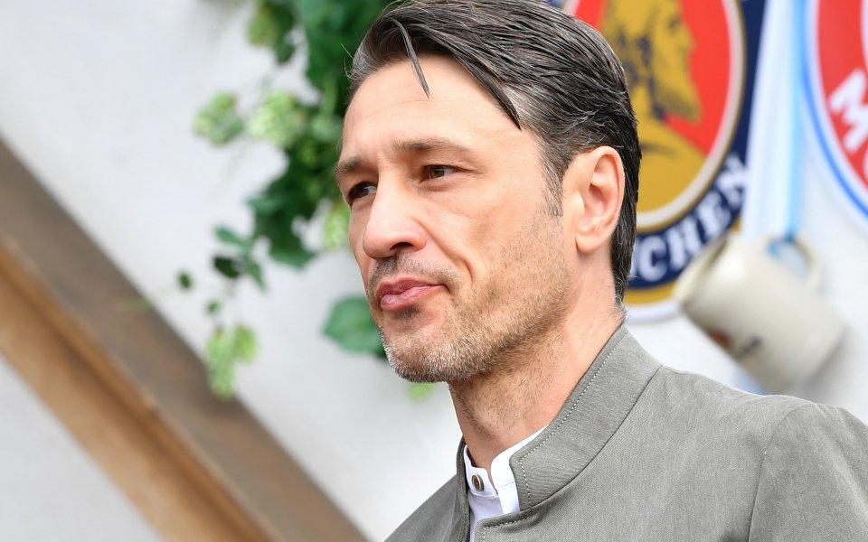 Нико Ковач вече говорил за края в съблекалнята на Байерн