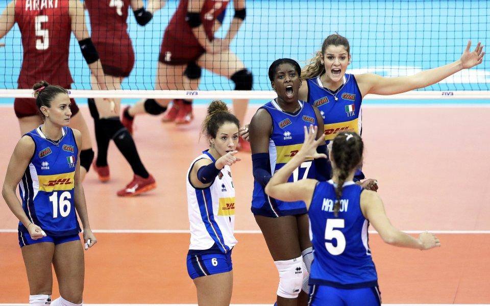 Драма срещу Китай прати Италия на световен финал