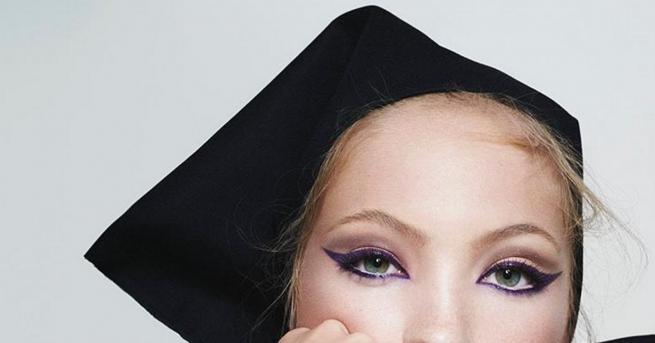 Лила Мос - дъщерята на легендарния британски модел Кейт Мос
