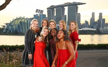 Красота и стил от най-добрите тенисистки в света