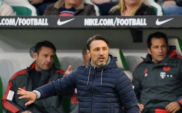 Ковач: Похвалите са изцяло за отбора