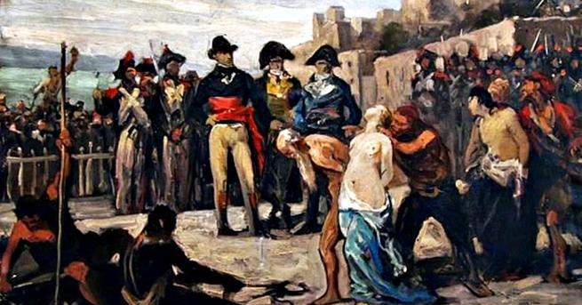Френска революция между 1789 и 1799 г. слага край на