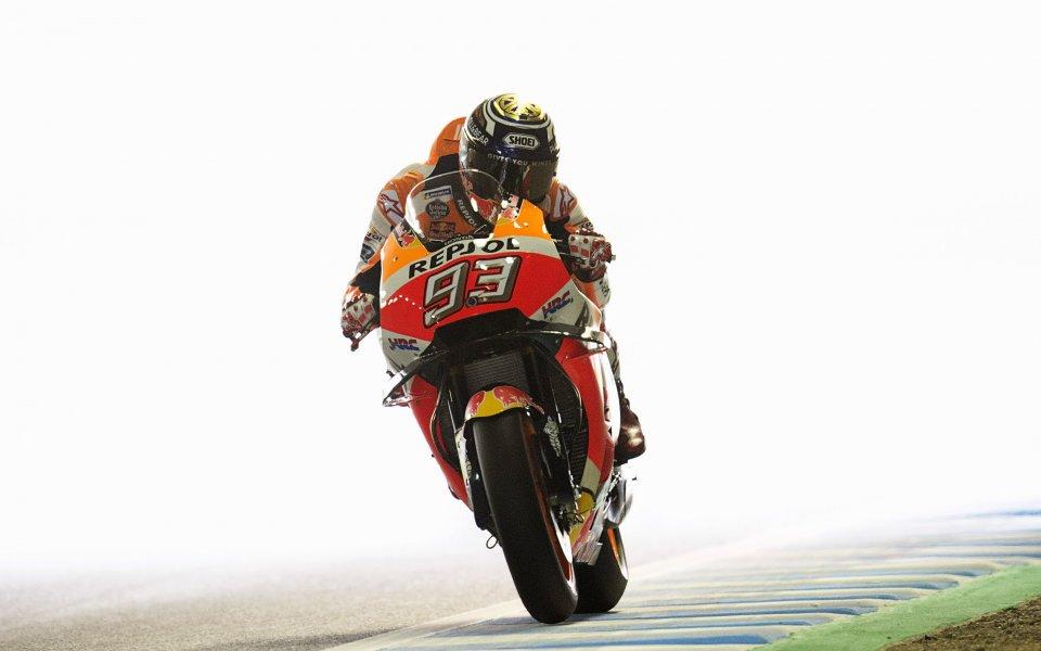 Марк Маркес прелетя за успех на старта на Moto GP
