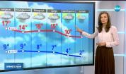 Прогноза за времето (21.10.2018 - обедна емисия)