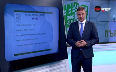Витоша и Берое слагат точка на 12-ия кръг в Първа лига